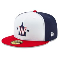 Washington Nationals New Era Alternate 2 2020 Authentic Collection On-Field 59FIFTY Fitted Hat - White