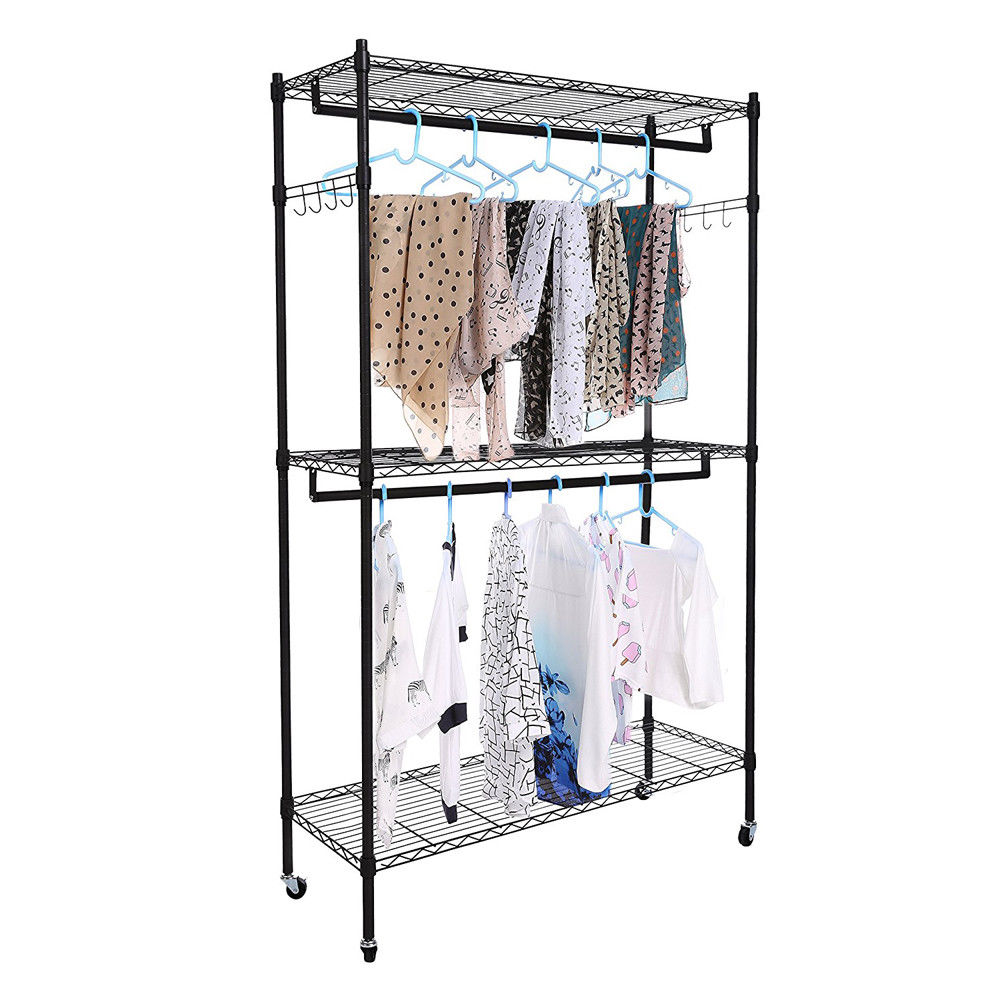 Beau Zimtown Wire Shelving Garment Rack Closet System Storage Organizer Clothes  Hanger Dry Shelf