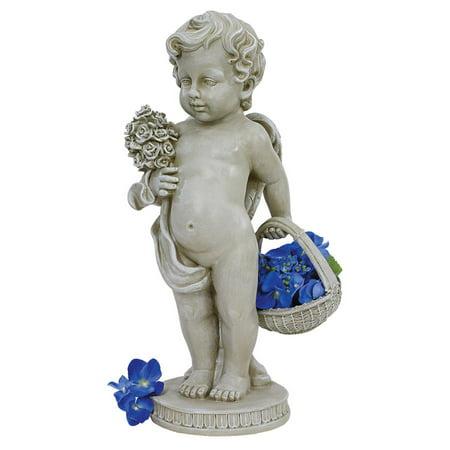 Design Toscano Cherub's Bouquet Statue