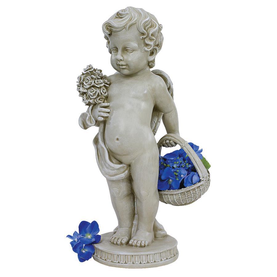 Cherub's Bouquet Statue