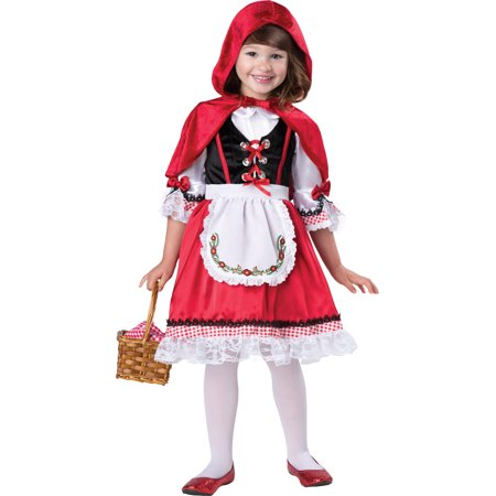 Toddler Little Red Riding Hood Costume Incharacter Costumes 60015, 2T