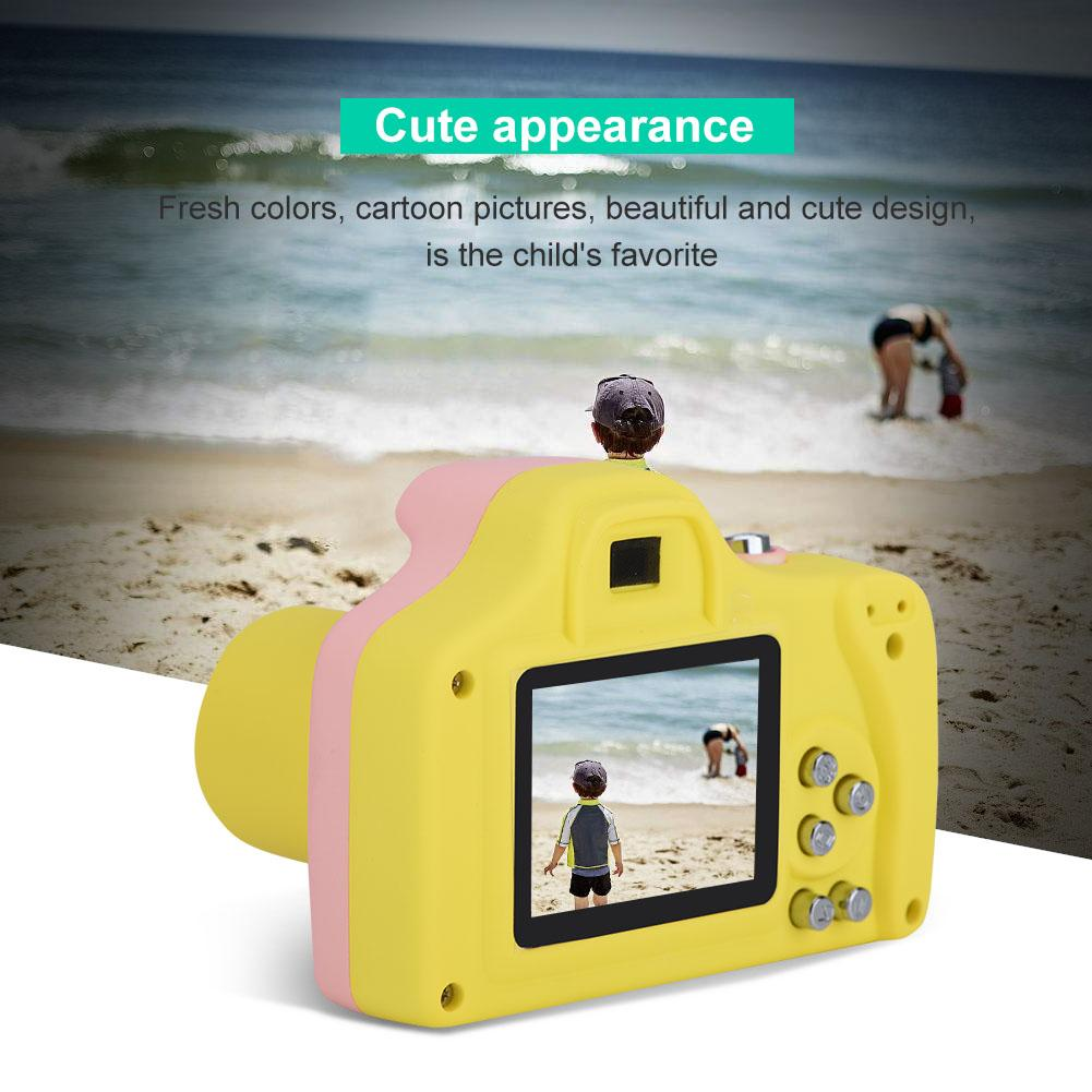 Yosoo 1.5 inch LCD Kids Mini Digital Camera Children Toys Gift Cartoon Cute Camera , LCD Children Camera, Kids Digital Camera