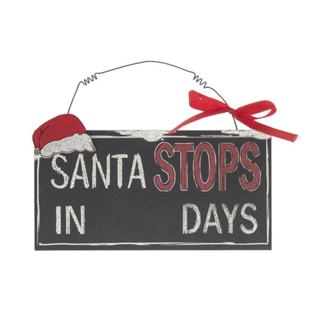Santas Workshop Countdown Calendar (Days Until Santa Arrives Christmas Countdown Calendar - By Ganz)