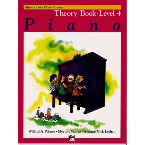 Alfred's Basic Piano Library: Theory Level 4