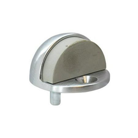 Dull Chrome Low Dome Door (Low Dome Door Stop)
