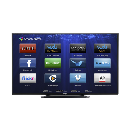 how to add apps to sharp aquos smart tv