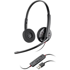 Plantronics Blackwire C320-M Headset - Stereo - Gray - USB