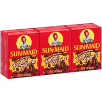 Sun-Maid Dark Chocolate Yogurt Raisins, 1 Oz., 6 Count