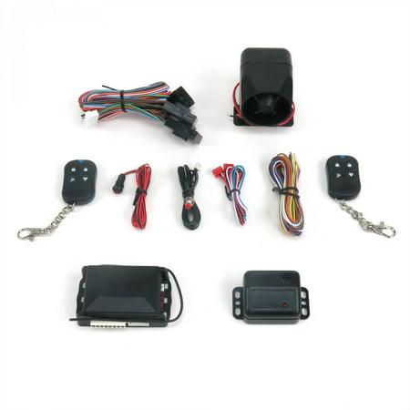 Plug In Bmw Alarm with 2x Shock (Bmw Style Plug)