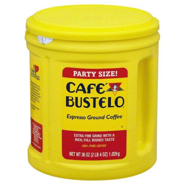 Cafe Bustelo, Espresso Style Ground Coffee, 36oz