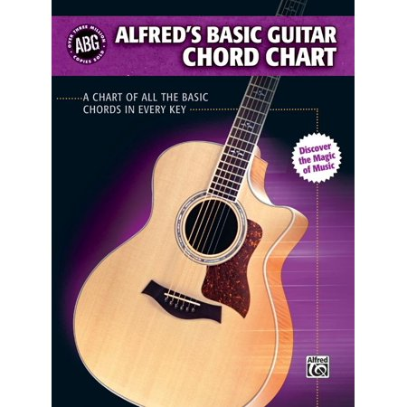 (Alfred's Basic Guitar Chord Chart : A Chart of All the Basic Chords in Every Key)