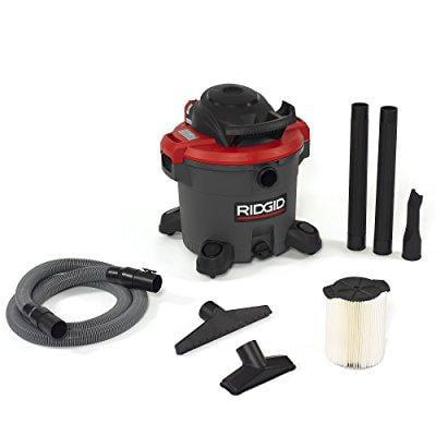 ridgid 50323 1200rv wet/dry vacuum, 12 gal, red