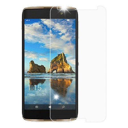 Alcatel A30 Plus Screen Protector, Alcatel A30 Fierce 2017 Screen Protector, Alcatel Revvl T-Mobile Screen Protector, Alcatel Walters Screen Protector, by Insten Glass Screen Protector for Revvl 5049W ()