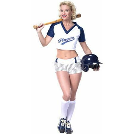 Adult Sexy Baseball Player Girl Costume - Baseball Player Costume Toddler