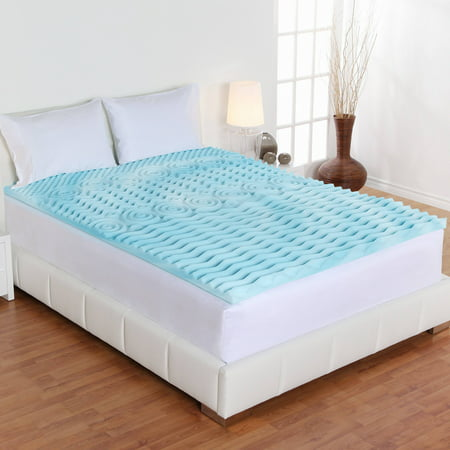 Authentic Comfort 2-Inch Orthopedic 5-Zone Foam Mattress