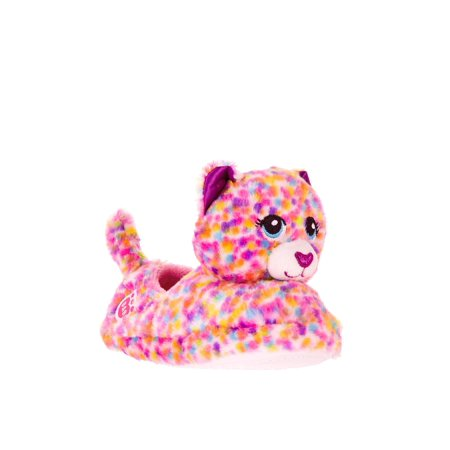 Girls' Build A Bear Workshop Leopard Confetti Slippers](Frozen Elsa Slippers)