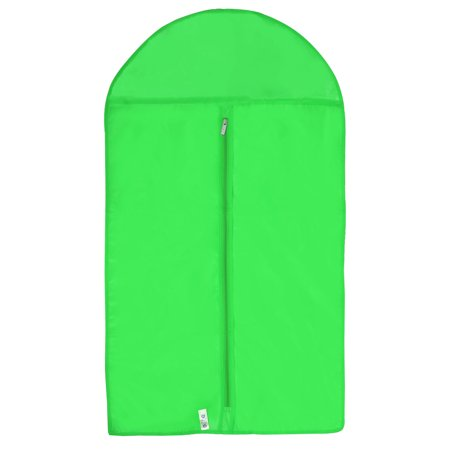 Carrying Dress Clothes Dust Cover Suits Garment Protector Storage Bag Green (Light Garment)