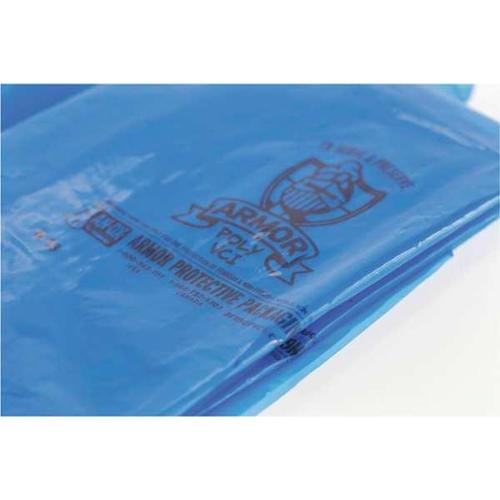 ARMOR POLY PVCIBAG4MB161021 VCI Gusseted Bags, 16in.L., 4 mil, PK250