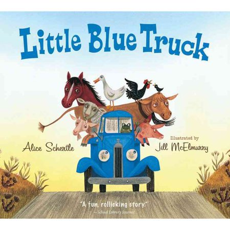Image of Little Blue Truck ( Little Blue Truck) (Board) by Alice Schertle