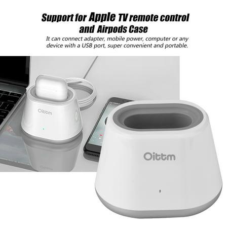 YLSHRF USB Charging Dock Station for AirPods Case Apple TV Controller,Charging Dock Station for AirPods,Charging for AirPods
