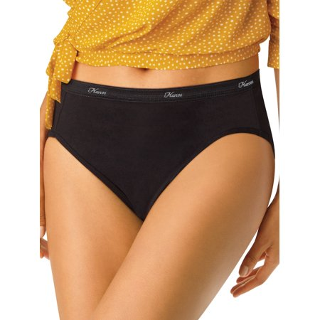 Hanes Women's Hi-Cut Panties PP43WB 6pk - Colors May Vary 8