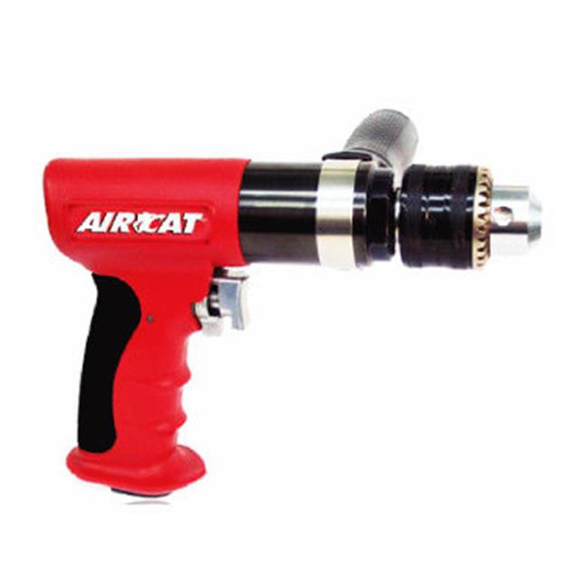 AirCat ACA4450 . 5 inch Composite Reversible Drill 400rpm by AirCat