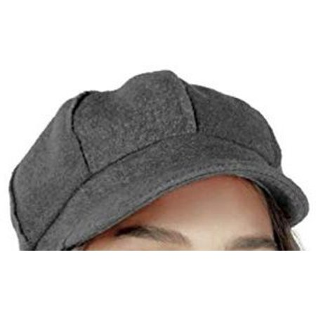Nine West Bouclé Newsboy Cap, Grey (Grey, One Size)
