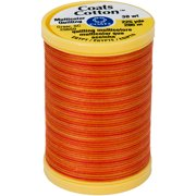 Cotton Machine Quilting Thread, Multicolor 225yd, Canyon Sunset