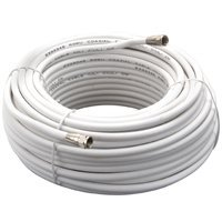 Amertac - Zenith Vg110006W Rg6 Coaxial Cable 100 Feet - White