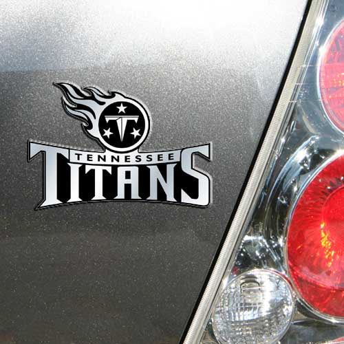 Tennessee Titans Auto Emblem - No Size