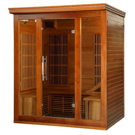 Radiant Saunas Puretech Low EMF 4 Person FAR Infrared Sauna ()