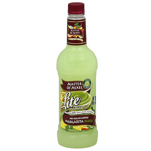 Master Of Mixes Lite Margarita Cocktail Mixer, 1 l (Pack of 6) by Generic