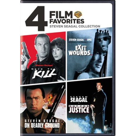 4 Film Favorites: Steven Seagal Collection (DVD) for $<!---->