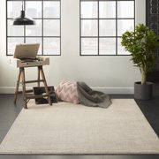 Nourison Royal Moroccan Distressed Bohemian Beige Area Rug