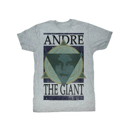Andre The Giant WWE Andre Geometric Adult T-Shirt Tee (Show And Tell Halloween)