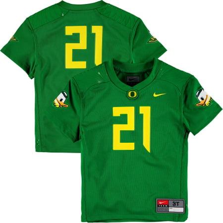 timeless design 93570 fddd6 #21 Oregon Ducks Nike Toddler Replica Football Jersey - Green