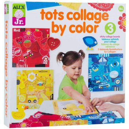 Alex Jr  Tots Collage By Color