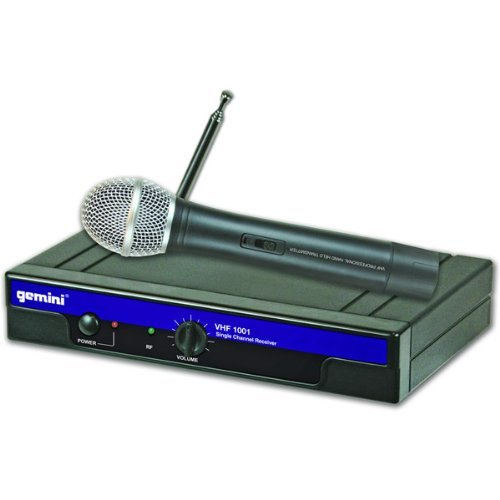 Gemini DJ VHF1001MC8 Wireless Headset Microphone by GCI Technologies Corp.