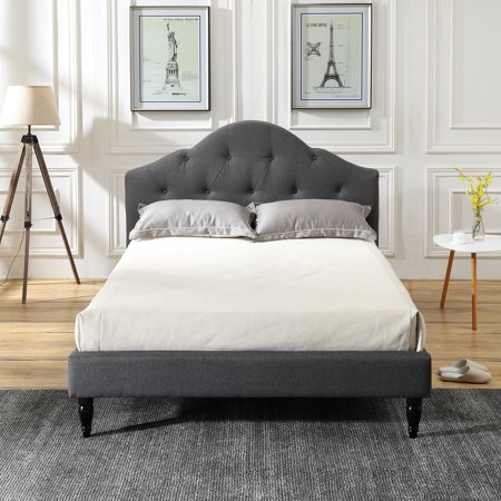 Modern Sleep Winterhaven Upholstered Platform Bed