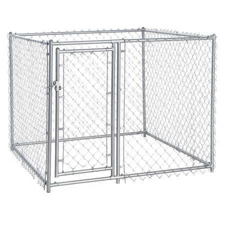 lucky dog 4 h x 5 w x 5 l galvanized chain link modular pc d frame
