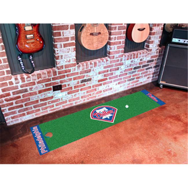 FANMATS 9049 Philadelphia Phillies Putting Green Runner 24 inch x 96 inch