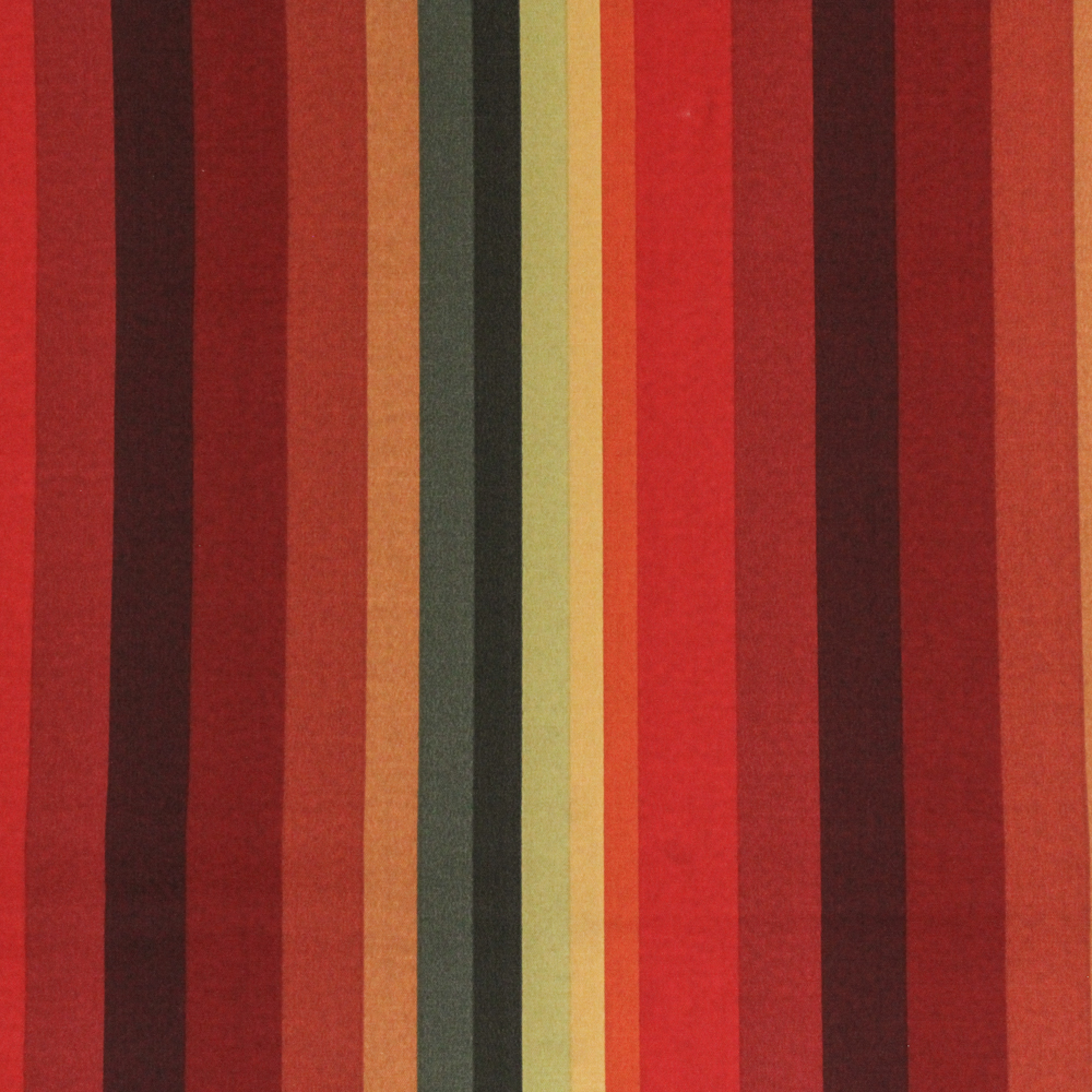 """Berkshire Home Polyester 54"""" Indoor/Outdoor Islip Cayenne Fabric, per Yard"""