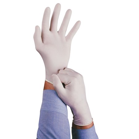 Conform Natural Rubber Latex Gloves, 5 mil, Large, (Best Rubber Gloves For Sensitive Skin)