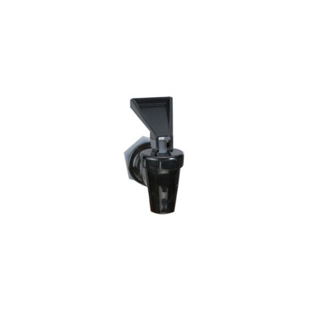Slimline Beverage - 953F Standard Faucet for Plastic Beverage Dispensers, Dispenser 3Gallon for Standard Plastic Black Mfg Clear number gal Slimline 953F Dispneser TW33DP.., By Tablecraft
