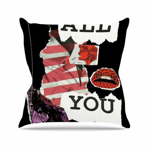 East Urban Home Poster Jina Ninjjaga Throw Pillow