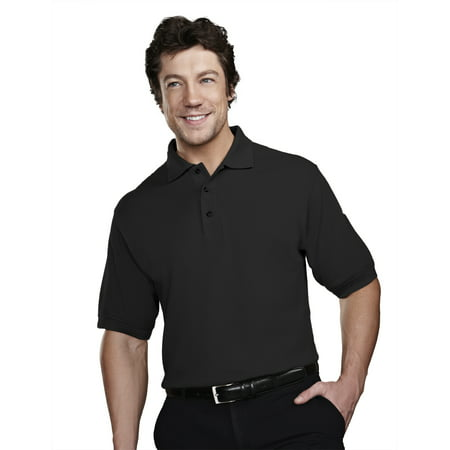 Tri-Mountain Tradesman 205 stain resistant pique golf shirt, 2X-Large,