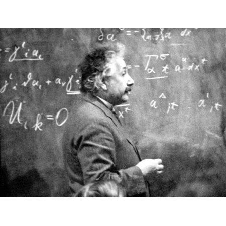 Albert Einstein (1879-1955) Swiss Physicist (German Born) C. 1930 Print Wall
