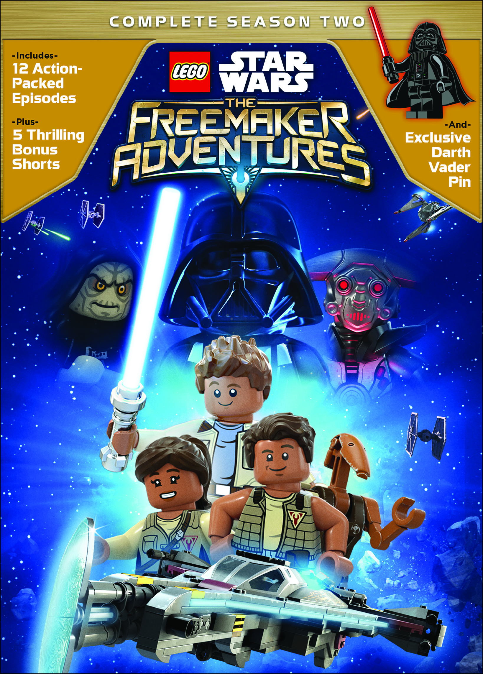 Lego Star Wars The Freemaker Adventure: Complete Season Two (DVD) by Buena Vista Home Entertaiment