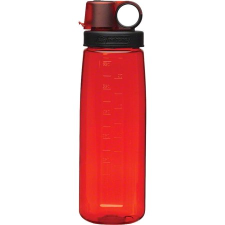 Nalgene Tritan OTG Water Bottle: 24oz, (Red Water Bottle)