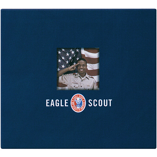 "K & Company Boy Scouts Of America 12"" x 12"" Metal Emblem Scrapbook for Eagle Scouts"